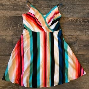 Express Mini Dress multi-colored